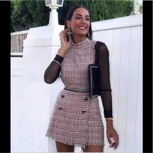 Bloggers favorite Zara tweed romper